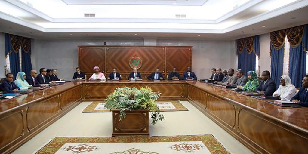 conseil-des-ministres-mauritanie