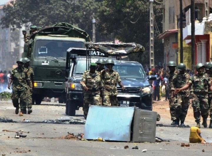 Les opposants Guinéens détenus