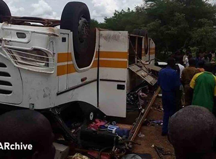 Accident: trois morts et deux blessés suite à une collision entre trois camions