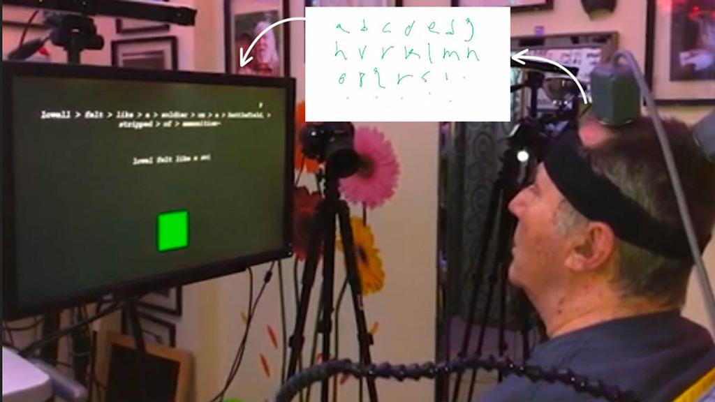Handicap: des chercheurs ont trouvé comment nous faire écrire par la pensée