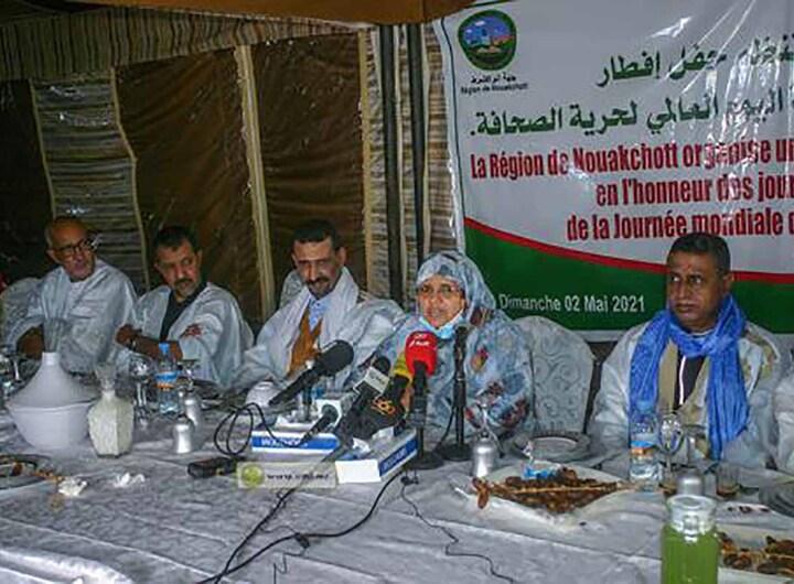 Iftar pour la presse nationale à Nouakchott