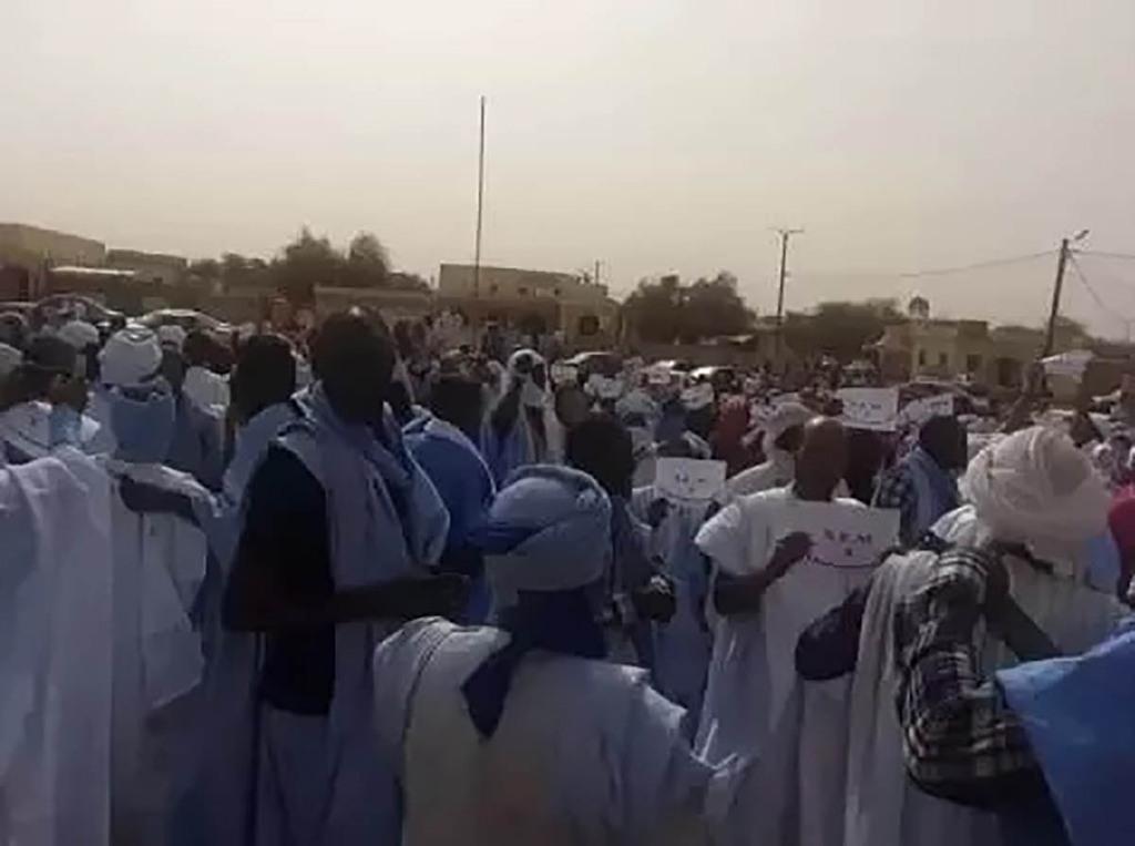 Manifestation des enseignants contre les tests d'évaluation