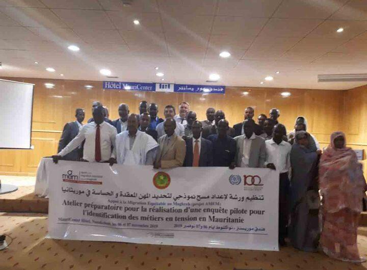 Nouadhibou: Atelier sur la migration de la main-d'œuvre liée au marché du travail en Mauritanie