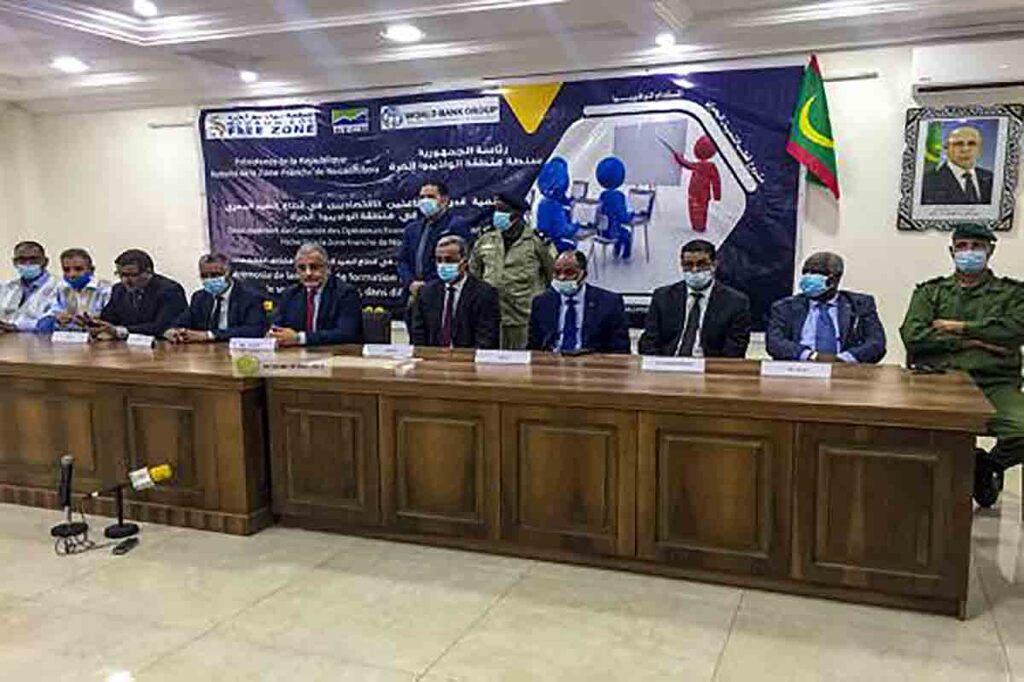 Programme de formation de 1 100 opérateurs économiques de la pêche à Nouadhibou