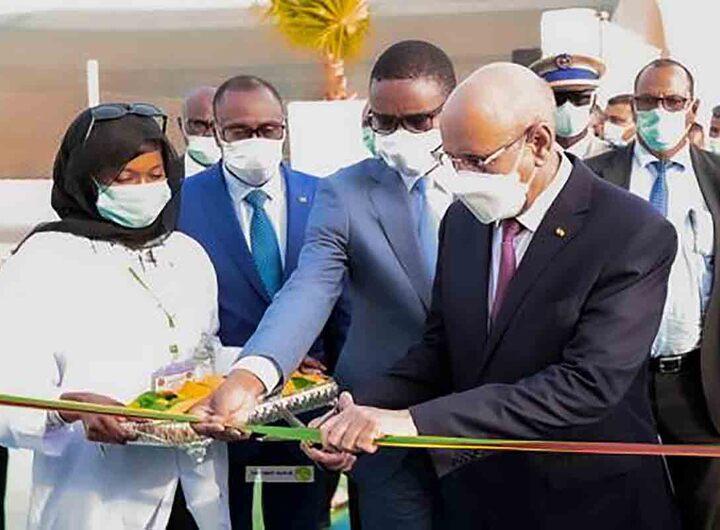 Inauguration de l'hôpital mobile Mohamed Ben Zayed