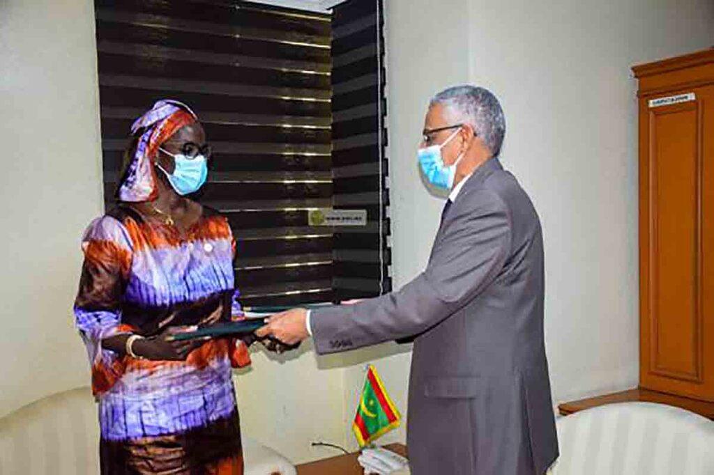 Renforcement du système national de protection sociale, accord de partenariat entre TAAZOUR et le PAM