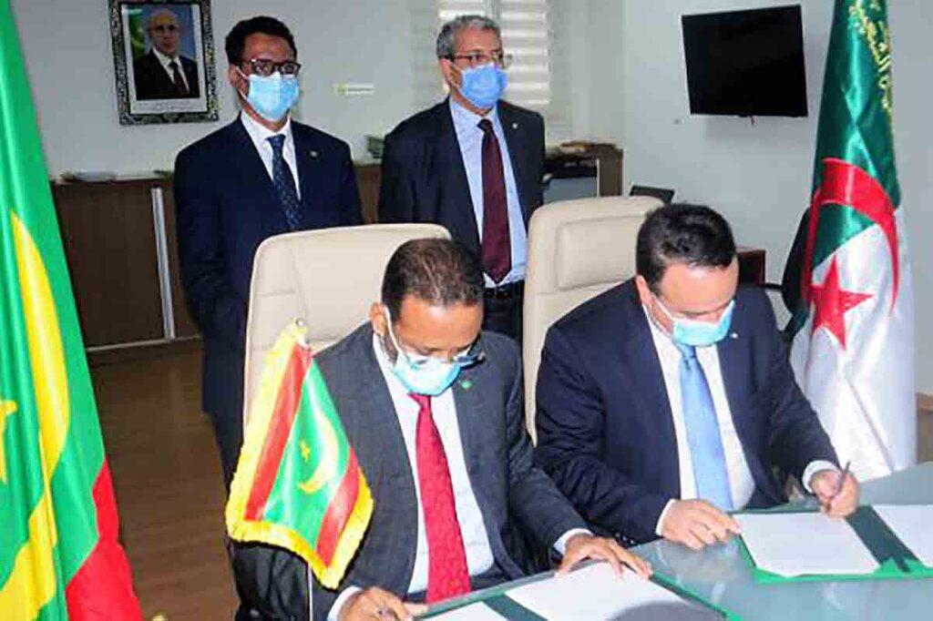 Signature d'un accord entre la Somelec et les sociétés algériennes Sonelgaz Navtal